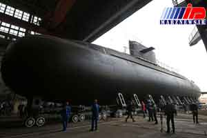 روسیه دومین زیردریایی کلاس 'لادا' را به آب انداخت