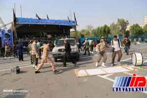 حمله تروریستی در رژه نیروهای مسلح در اهواز / دو عامل تیراندازی کشته و دو تن دستگیر شدند
