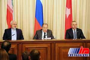وزرای خارجه ترکیه، ایران و روسیه در نیویورک دیدار می کنند