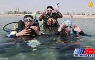آزادی جدید زنان عربستانی در ساحل دریا+عکس