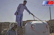 ۱۲۶۰ تانکر طرح نذر آب در سیستان و بلوچستان توزیع شد