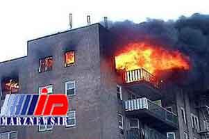 آتشسوزی منزل جان کودک ۴ ساله را گرفت