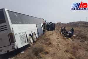 برخورد اتوبوس با تراکتور در اردبیل حادثه آفرید/ ۲۸ نفر مصدوم شدند