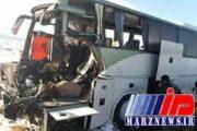۱کشته و۲۷مصدوم در تصادف اتوبوس در مشگین شهر