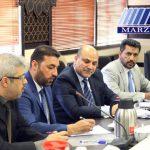 اولین نشست کاردار جدید عراق با دبیر ستاد مرکزی اربعین