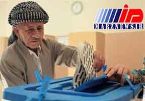 نتایج غیر رسمی انتخابات اقلیم کردستان عراق