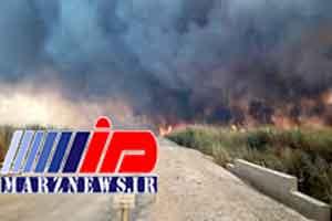 خشکی هورالعظیم، آتش را به خاک ایران کشاند