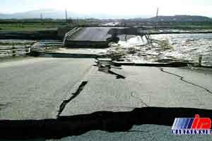 پل « ماشلک» در نوشهر فروریخت