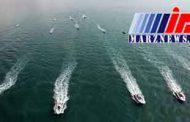 رژه یگانهای دریایی سپاه در عسلویه