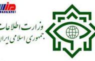 وزارت اطلاعات یک تیم تروریستی را در کرمانشاه منهدم کرد
