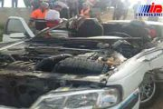 تصادف در محور بوکان - میاندوآب سه کشته برجا گذاشت