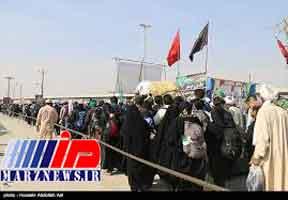زائران مرز خسروی از مهران تردد کنند