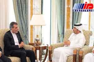 رایزنی های جابری انصاری با قطری ها برای پایان جنگ یمن