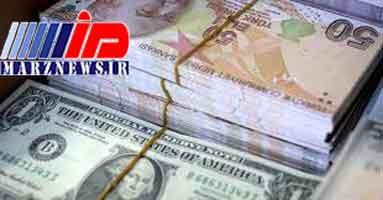 لیر ترکیه در مقابل دلار ۵ درصد افزایش یافت