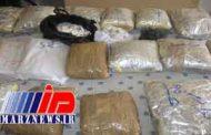 کشف ۲ تن انواع مواد مخدر در نیکشهر