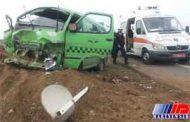 واژگونی ون زائران ایرانی در مسیر حله/ ۱۱ مازندرانی مصدوم شدند