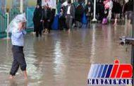 بارش شدید باران در کربلا و نجف
