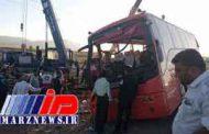 واژگونی اتوبوس دانش آموزان در خوزستان