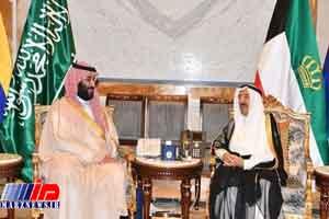 ولیعهد سعودی با امیر کویت دیدار کرد