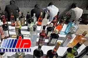 انهدام باند توزیع مشروبات الکلی در هرمزگان