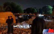 انفجار گاز بخشی ازمرکز آموزش ورزشگاه تختی اهواز را تخریب کرد