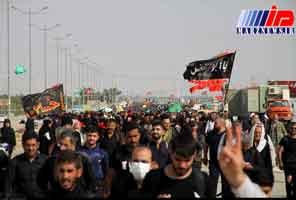 ۷۰۰ هزار زائر از مرزهای سه گانه وارد عراق شدند