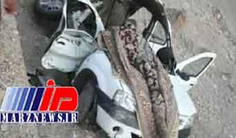 ۵ کشته در تصادف جاده ایلام به مهران