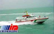 نجات سرنشینان یک شناور در نزدیکی جزیره خارگ