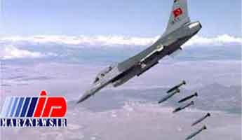 حمله هوایی ترکیه به مواضع «پ.ک.ک» در عراق