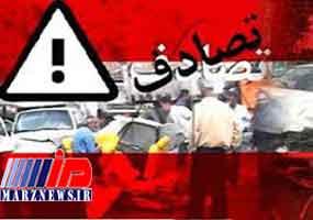 تصادف اتوبوس با دو دستگاه ون در عراق