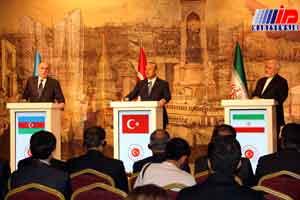 ایران، ترکیه و آذربایجان مواضع مشابهی در مسائل منطقه ای دارند