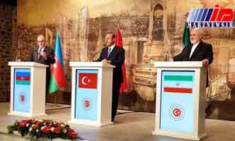 نشست سه جانبه بعدی در ایران/ تشکر از ترکیه و آذربایجان به خاطر حمایت از برجام