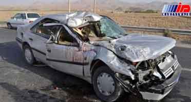 تصادف در تنگستان چهار کشته برجای گذاشت