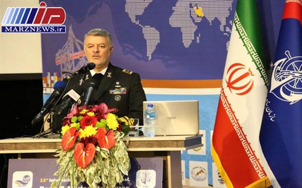 مناطق دریایی ایران از امنیت کامل برخوردار است