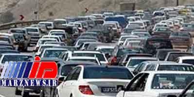 ترافیک سنگین در ۴ محور ایلام