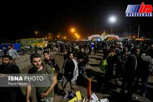توضیح پلیس درباره «اختلال» در روند تردد زائران در مرز مهران