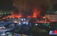 خسارت آتش سوزی در شهر کابل ده ها میلیون دلار اعلام شد