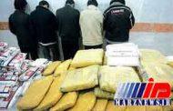 انهدام باند قاچاق مواد مخدر