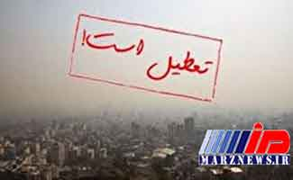 مدارس برخی شهرهای خوزستان به علت بارندگی تعطیل شد