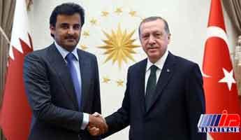 امیر قطر فردا با اردوغان دیدار می کند