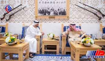 غیبت مشکوک ولیعهد عربستان در دیدار ولیعهد ابوظبی با شاه سعودی