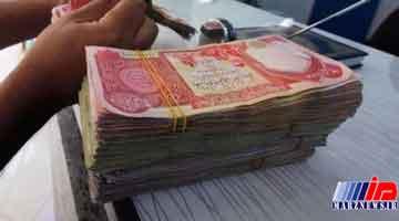 تحویل ارز اربعین توسط بانک ملی در خاک عراق