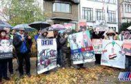 یمنی ها در بروکسل علیه عربستان تظاهرات کردند