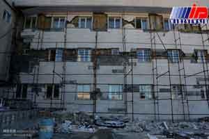 وضعیت مراکز درمانی کرمانشاه یک سال پس از زلزله