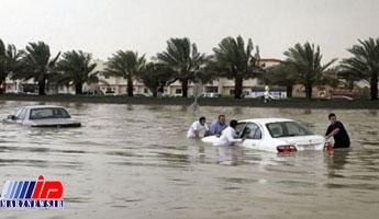 جان باختن ۳۰ نفر بر اثر سیل در عربستان