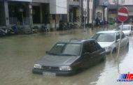 بارندگی شدید در بوشهر باعث آبگرفتگی شد