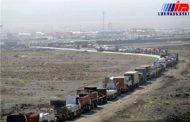 ترافیک سنگین صادرات پشت مرزهای سیستان و بلوچستان