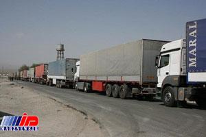 ترانزیت ۵.۷ میلیون تن کالا از کشور