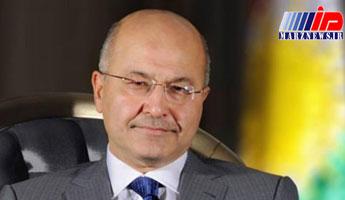 رئیسجمهور عراق عازم ریاض شد