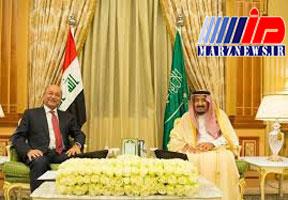 دیدار رئیسجمهور عراق و شاه عربستان